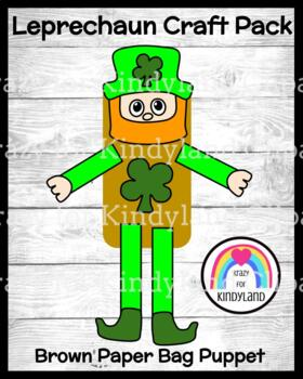 Saint Patrick's Day Craft: Leprechaun Puppet