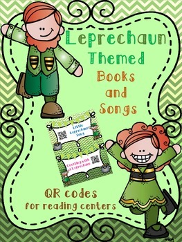 Leprechaun QR codes for St. Patrick's Day *books & songs*