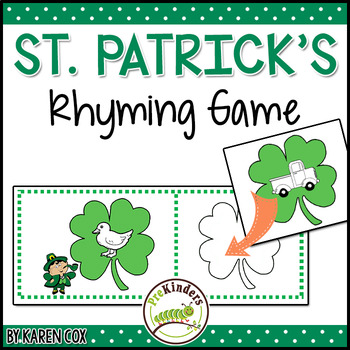 St. Patrick's Rhyming Game