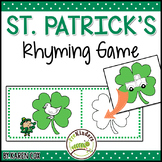 St. Patrick's Rhyming Game