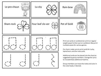 Leprechaun Rhythm Cards