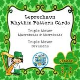 Leprechaun Rhythm Pattern Cards