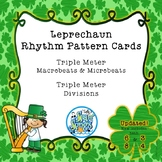 Leprechaun Rhythm Pattern Cards