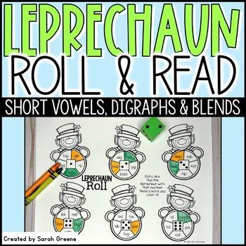 Leprechaun Roll {CVC, digraphs & blends}