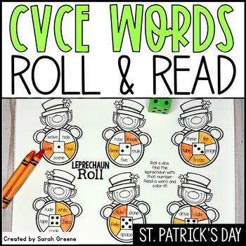 Leprechaun Roll {CVCe practice!}