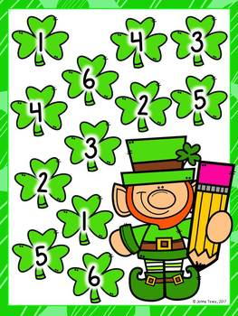 Leprechaun Roll and Cover FREEBIE!