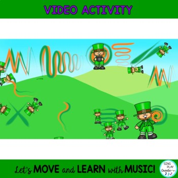 Leprechaun Scarf and Ribbon Music and Movement Activities