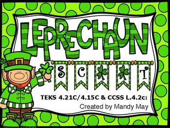 Leprechaun Scoot! Comma Placement in Compound Sentences