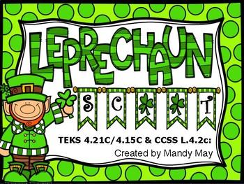 Leprechaun Scoot! Comma Placement in Compound Sentences