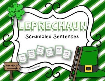 Leprechaun Scrambled Sentences