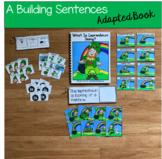 "Leprechaun Sentence Builder Book:  ""What is Leprechaun Doing?"