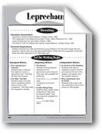 Leprechaun Shape Book