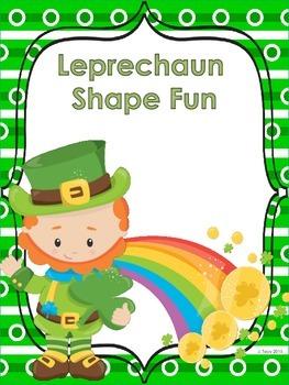 Leprechaun Shape Hunt Lesson Plan & Center Activities