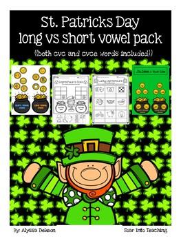 Leprechaun Short vs Long Vowels {cvc, cvce}