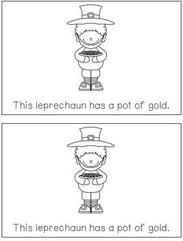 Leprechaun Sight Word Reader
