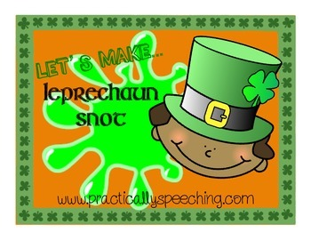 Leprechaun Snot: A St. Patrick's Day Science Experiment