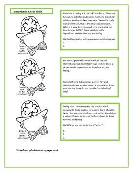 Leprechaun Social Skills