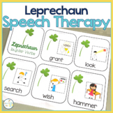 LEPRECHAUN ST. PATRICK'S DAY Speech Therapy Themed Packet for Mixed Groups