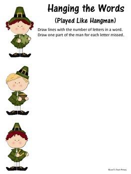 Leprechaun Spelling