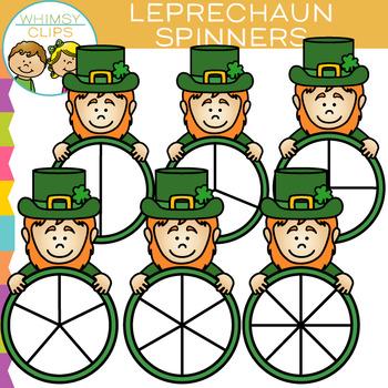 Leprechaun Spinners Clip Art