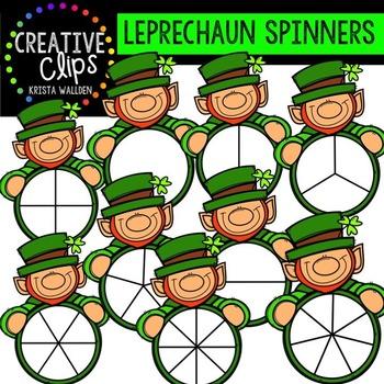 Leprechaun Spinners {Creative Clips Digital Clipart}