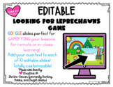 Leprechaun St. Patrick's Day Editable Google Slides Game |
