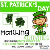 Leprechaun St Patrick's Day Matching Centers