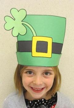 Leprechaun St. Patrick's Day Sentence Strip Hat