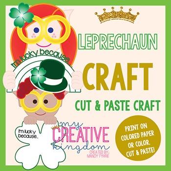 Leprechaun St. Patrick's March Craft