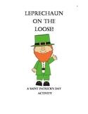 Leprechaun St. Patrick's day NO PREP activity. Language arts