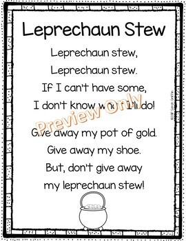 Leprechaun Stew - St. Patrick's Day Poem for Kids