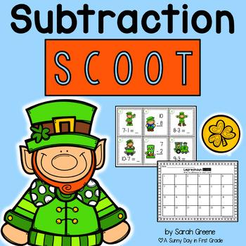 Leprechaun Subtraction Scoot!