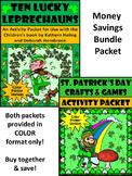 Ten Lucky Leprechauns & St. Patrick's Day Crafts & Games Activity Bundle - Color