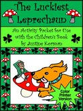 St. Patrick's Day Reading Activities: The Luckiest Leprechaun Activity Packet