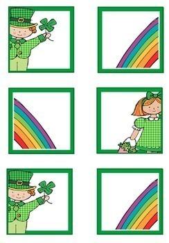 Leprechaun Theme Calendar Numbers