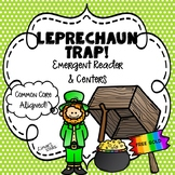 Leprechaun Trap! Emergent Reader & Centers