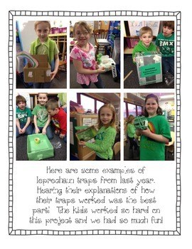 Leprechaun Trap Family Project