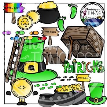 St. Patrick's Day Clipart (Leprechaun Trap Clipart)