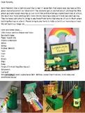 Leprechaun Trap Letter to Parents St. Patrick's Day