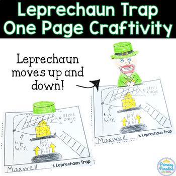 Leprechaun Trap: One Page Craftivity