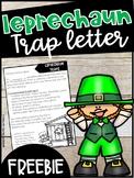 Leprechaun Trap Parent Letter