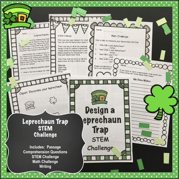 Leprechaun Trap STEM Challenge