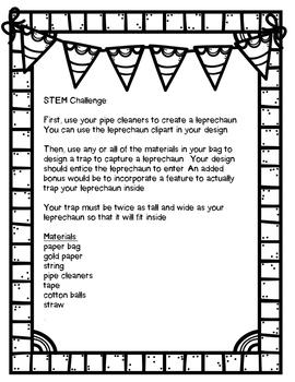 Leprechaun Trap STEM Challenge