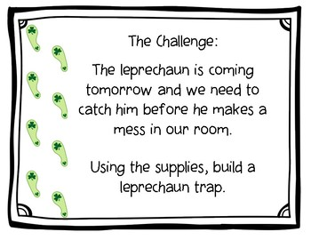 Leprechaun Trap STEM & Family Project