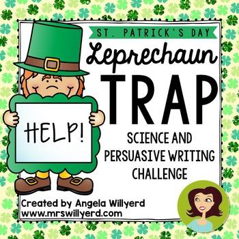 St. Patrick's Day STEM & Persuasive Writing 5-Day Challenge- Leprechaun Trap-PPT