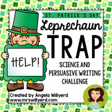 St. Patrick's Day STEM & Persuasive Writing 5-Day Challeng