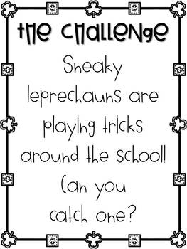 Leprechaun Trap - St. Patrick's Day STEM Activity