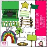 Leprechaun Trap clip art  - COMBO PACK - by Melonheadz Clip art