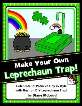 Leprechaun Trap—A Quick, Easy FUN March Craft Project!