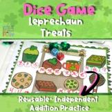 Leprechaun Treats - Independent Math Dice Game